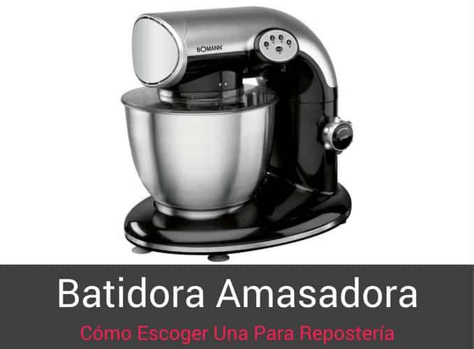 Batidora Amasadora Portada