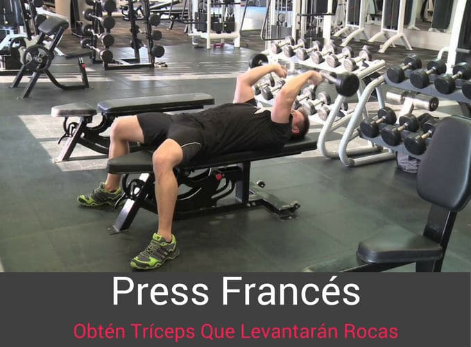 El Press Frances Para Triceps
