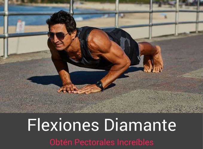 Flexiones Diamante Para Pectorales
